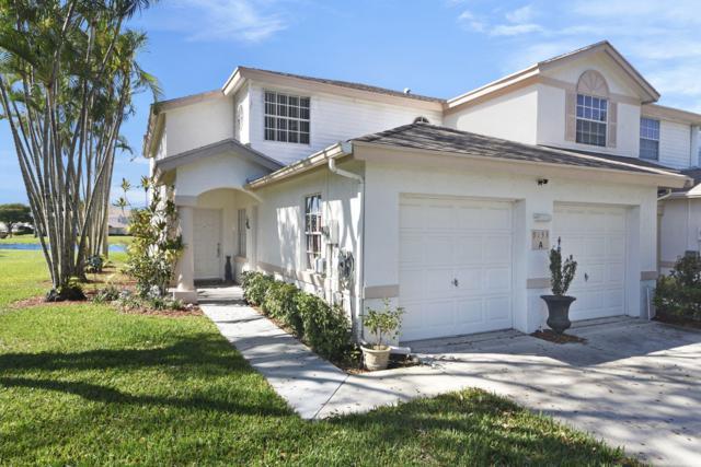 9133 Boca Gardens Circle S A, Boca Raton, FL 33496 (MLS #RX-10513071) :: Berkshire Hathaway HomeServices EWM Realty
