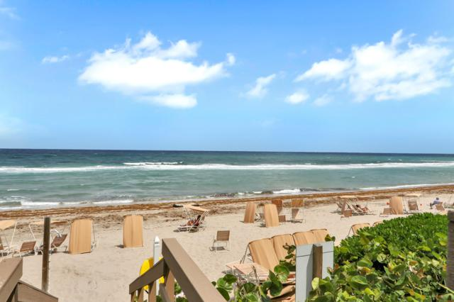 3740 S Ocean Boulevard #301, Highland Beach, FL 33487 (#RX-10516614) :: Ryan Jennings Group