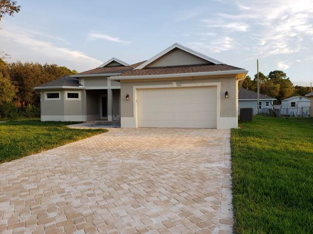 468 SW Cherry Hill Road, Port Saint Lucie, FL 34953 (MLS #RX-10516856) :: Berkshire Hathaway HomeServices EWM Realty