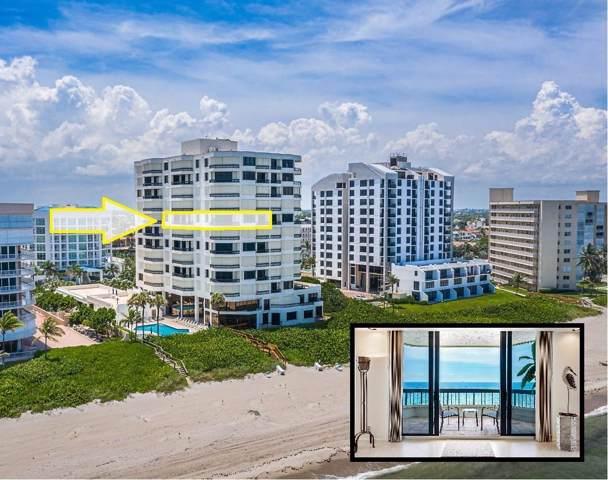 3201 S Ocean Boulevard #801, Highland Beach, FL 33487 (#RX-10546066) :: Ryan Jennings Group