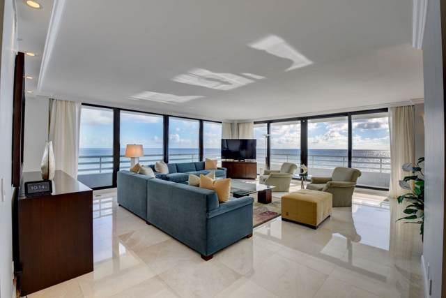 1400 S Ocean Boulevard #601, Boca Raton, FL 33432 (#RX-10547544) :: The Reynolds Team/ONE Sotheby's International Realty