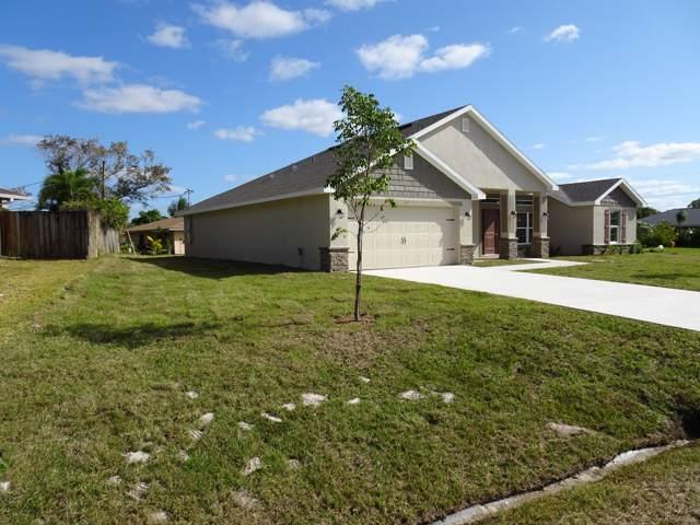 701 NE Eastlake Street, Port Saint Lucie, FL 34983 (MLS #RX-10557514) :: Berkshire Hathaway HomeServices EWM Realty