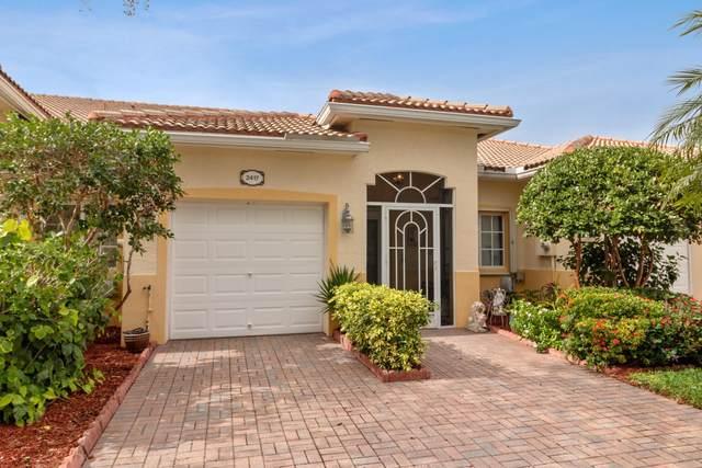 2417 Windjammer Way, West Palm Beach, FL 33411 (MLS #RX-10587269) :: Berkshire Hathaway HomeServices EWM Realty