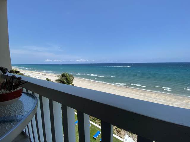 2909 S Ocean Boulevard 6C4, Highland Beach, FL 33487 (#RX-10601109) :: Ryan Jennings Group