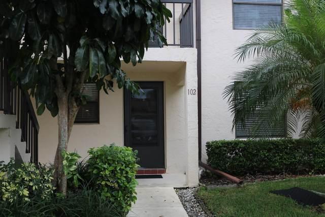 7269 Golf Colony Court #102, Lake Worth, FL 33467 (MLS #RX-10632541) :: Berkshire Hathaway HomeServices EWM Realty