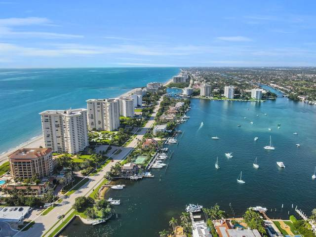 500 S Ocean Boulevard #609, Boca Raton, FL 33432 (MLS #RX-10638065) :: Berkshire Hathaway HomeServices EWM Realty