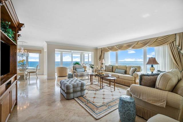 600 S Ocean Boulevard #1401, Boca Raton, FL 33432 (#RX-10667680) :: Posh Properties