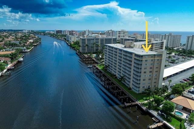 3310 S Ocean Boulevard 1032-D, Highland Beach, FL 33487 (#RX-10668781) :: Posh Properties