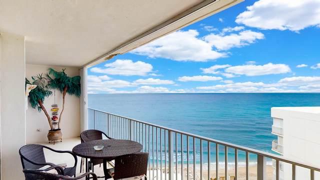 3590 S Ocean Boulevard #907, South Palm Beach, FL 33480 (#RX-10690397) :: The Rizzuto Woodman Team