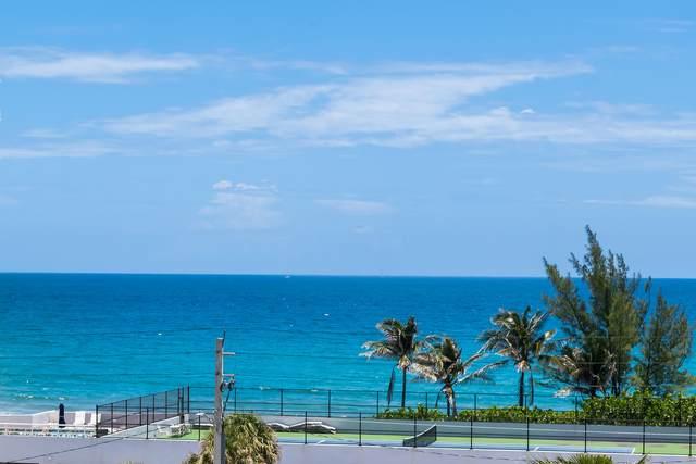 3450 S Ocean Boulevard #605, Highland Beach, FL 33487 (#RX-10713446) :: Posh Properties