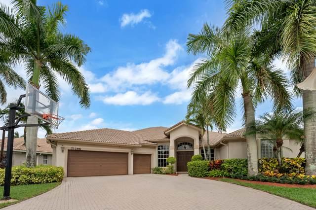 21286 Falls Ridge Way, Boca Raton, FL 33428 (#RX-10720313) :: Michael Kaufman Real Estate
