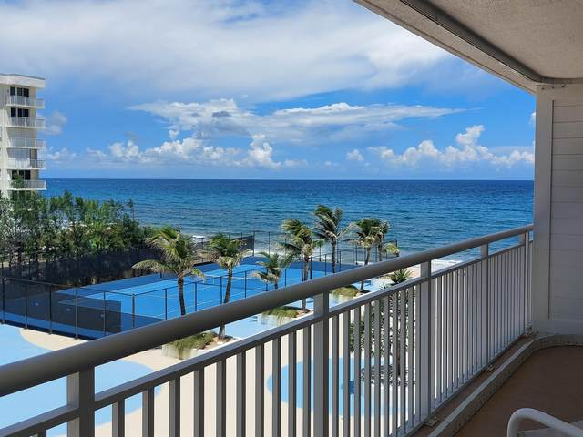 3546 S Ocean Boulevard #525, South Palm Beach, FL 33480 (MLS #RX-10738078) :: Berkshire Hathaway HomeServices EWM Realty