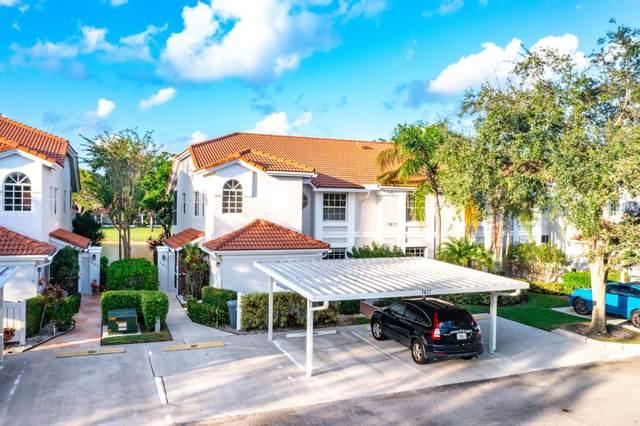 7677 Springwater 201 Place #201, Boynton Beach, FL 33437 (#RX-10753622) :: Posh Properties