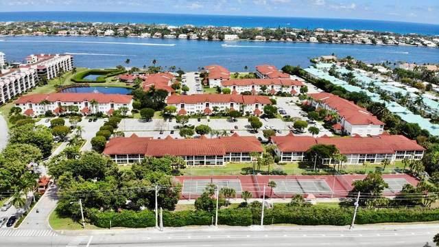 104 Half Moon Circle F1, Hypoluxo, FL 33462 (MLS #RX-10609530) :: Berkshire Hathaway HomeServices EWM Realty