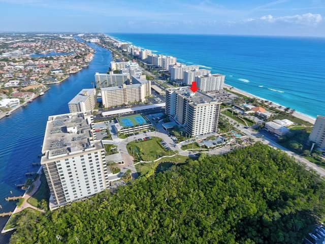 3400 S Ocean Boulevard 14K, Highland Beach, FL 33487 (#RX-10643925) :: Signature International Real Estate