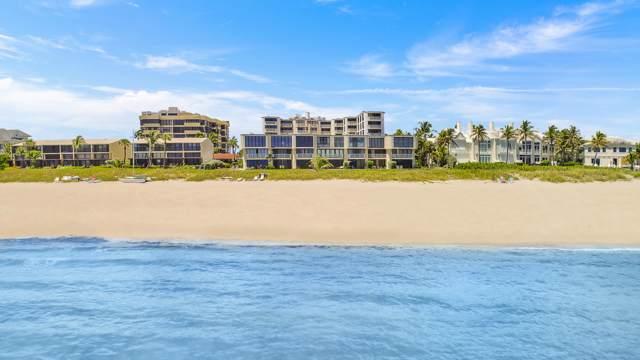 2155 S Ocean Boulevard Townhouse 3 & 4, Delray Beach, FL 33483 (MLS #RX-10438012) :: Berkshire Hathaway HomeServices EWM Realty