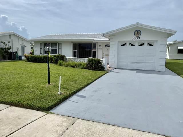 1000 Ocean Drive, Boynton Beach, FL 33426 (#RX-10733290) :: The Reynolds Team | Compass