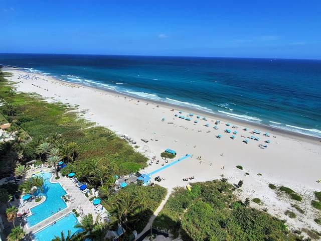 3100 N Ocean Drive H-1802, Singer Island, FL 33404 (#RX-10671133) :: Baron Real Estate