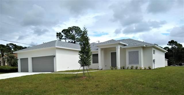 2862 SW West Louise Circle, Port Saint Lucie, FL 34953 (MLS #RX-10744508) :: Castelli Real Estate Services