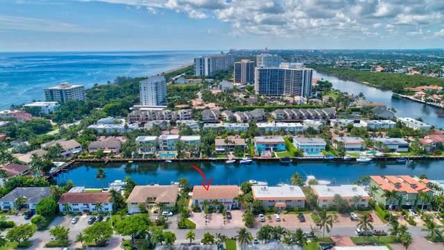 1106 Bel Air Drive B, Highland Beach, FL 33487 (#RX-10549779) :: Ryan Jennings Group