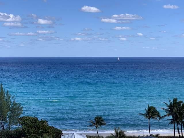 3450 S Ocean Boulevard Lph 6, Highland Beach, FL 33487 (#RX-10646110) :: Signature International Real Estate