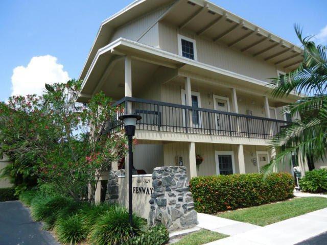 9219 SE Riverfront Terrace F, Tequesta, FL 33469 (#RX-10372480) :: Amanda Howard Real Estate™