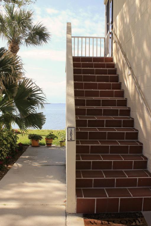 1203 Bayshore Drive #202, Fort Pierce, FL 34949 (#RX-10417837) :: Ryan Jennings Group