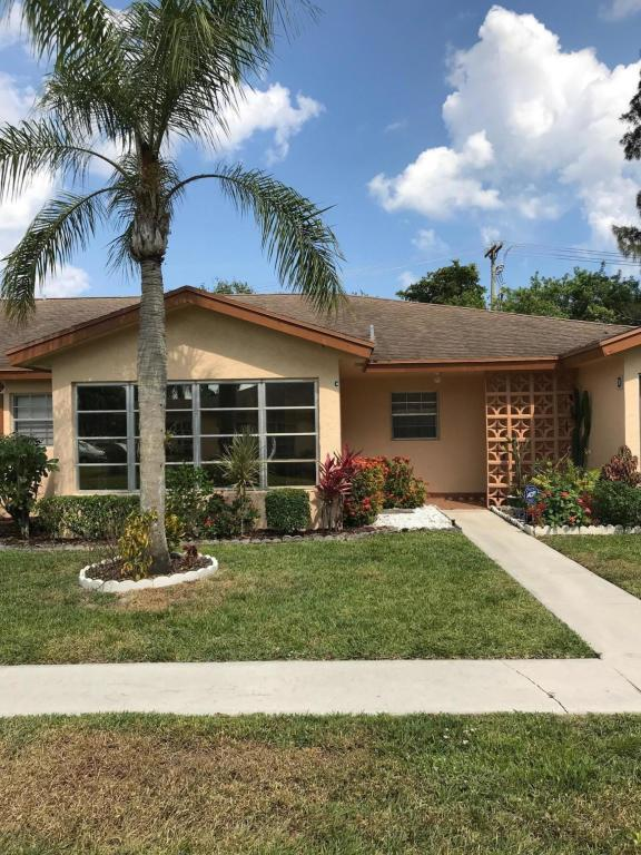 14412 Canalview Drive C, Delray Beach, FL 33484 (#RX-10433345) :: Blue to Green Realty
