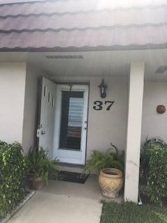5725 Fernley Drive E #37, West Palm Beach, FL 33415 (#RX-10448055) :: Blue to Green Realty