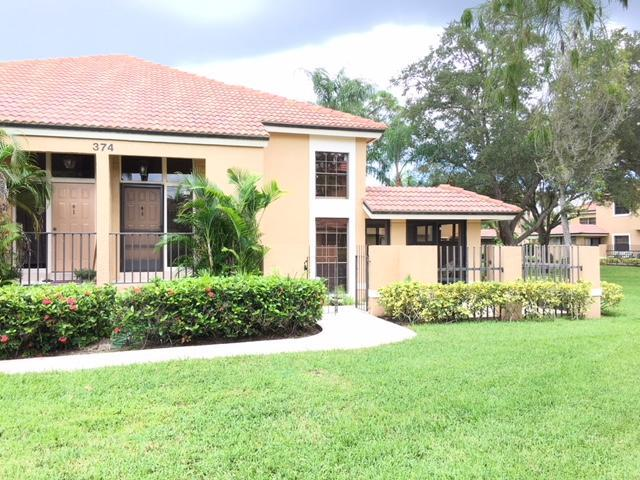 374 Prestwick Circle #4, Palm Beach Gardens, FL 33418 (#RX-10466067) :: Blue to Green Realty
