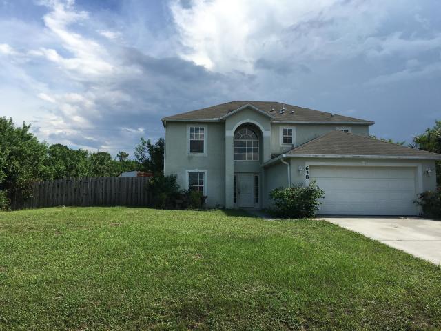 638 SW Haas Avenue, Port Saint Lucie, FL 34953 (MLS #RX-10487965) :: Castelli Real Estate Services