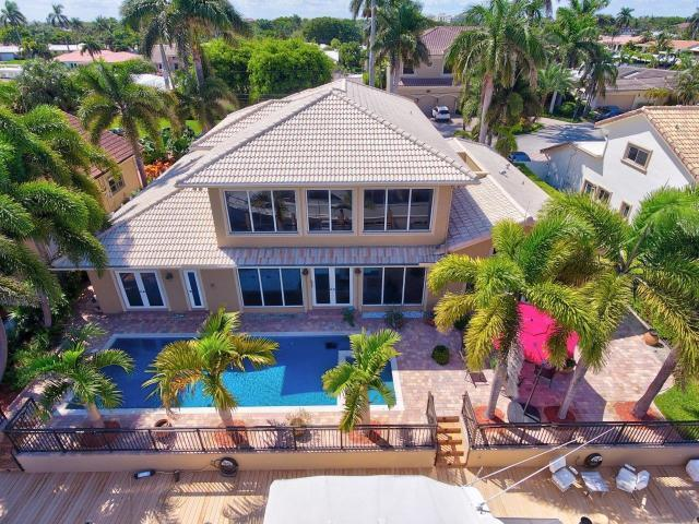 4280 NE 23rd Terrace, Lighthouse Point, FL 33064 (MLS #RX-10507734) :: EWM Realty International