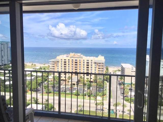 1200 Hibiscus Avenue #1704, Pompano Beach, FL 33062 (MLS #RX-10560989) :: Boca Lake Realty