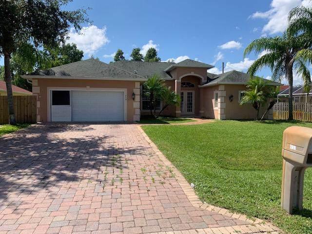 458 SE Nome Drive, Port Saint Lucie, FL 34984 (#RX-10561935) :: Ryan Jennings Group
