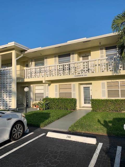 1150 Mahogany Way #202, Delray Beach, FL 33445 (#RX-10562007) :: Weichert, Realtors® - True Quality Service