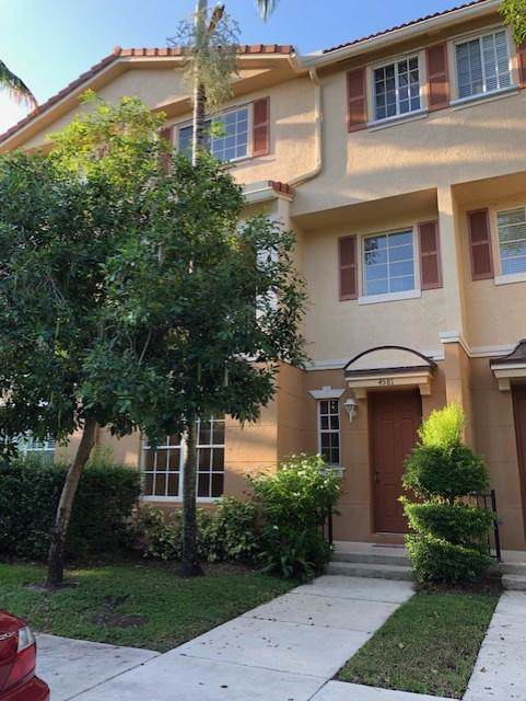 4581 Danson Way #4581, Delray Beach, FL 33445 (MLS #RX-10562698) :: The Nolan Group of RE/MAX Associated Realty