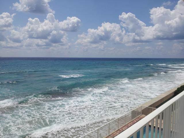 3580 S Ocean Boulevard 4F, South Palm Beach, FL 33480 (#RX-10571401) :: Ryan Jennings Group
