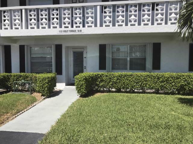 1131 Violet Terrace #102, Delray Beach, FL 33445 (#RX-10578237) :: Ryan Jennings Group