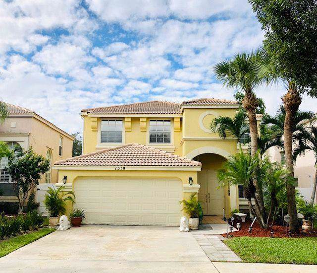 1319 Isleworth Court, Royal Palm Beach, FL 33411 (MLS #RX-10578323) :: United Realty Group