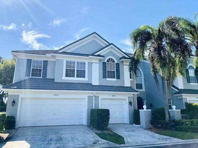 21510 St Andrews Grand Circle #22, Boca Raton, FL 33486 (#RX-10579580) :: Dalton Wade