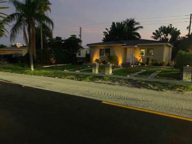 816 Moffett Street, Hallandale Beach, FL 33009 (MLS #RX-10580422) :: Castelli Real Estate Services