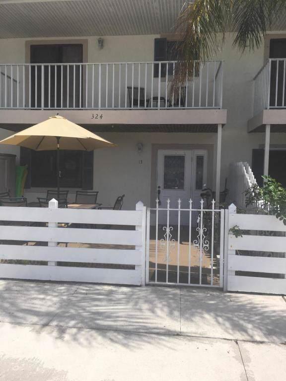 324 W Pine Street #13, Lantana, FL 33462 (MLS #RX-10583013) :: Berkshire Hathaway HomeServices EWM Realty