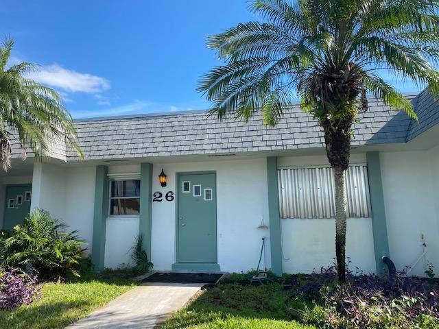 2638 Gately Drive #26, West Palm Beach, FL 33415 (#RX-10590586) :: Ryan Jennings Group