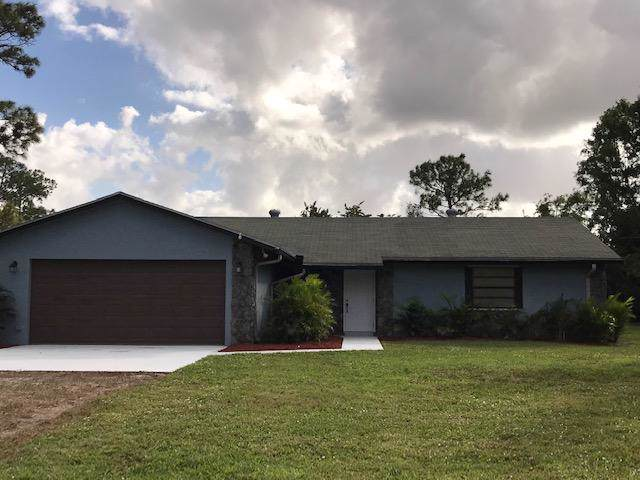 16744 E Edinburgh Drive, The Acreage, FL 33470 (MLS #RX-10591761) :: Berkshire Hathaway HomeServices EWM Realty
