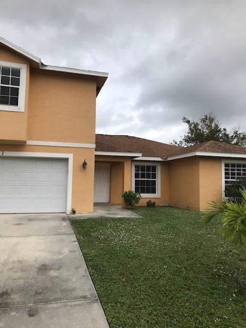 217 SW Voltair Terrace, Port Saint Lucie, FL 34984 (MLS #RX-10594331) :: The Jack Coden Group