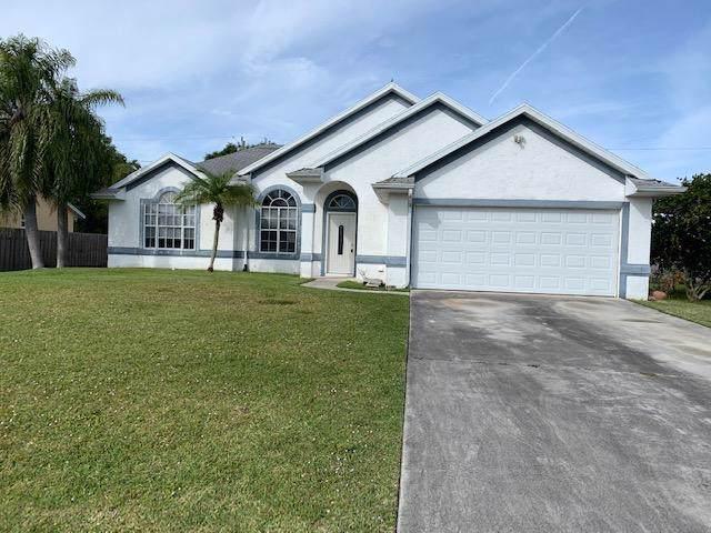 4516 NW Alsace Avenue, Port Saint Lucie, FL 34983 (MLS #RX-10596844) :: Berkshire Hathaway HomeServices EWM Realty