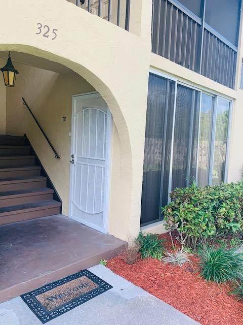 325 Pine Ridge Circle B-1, Greenacres, FL 33463 (#RX-10598652) :: Ryan Jennings Group
