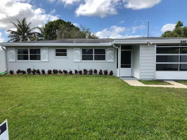 885 Hibiscus Drive, Royal Palm Beach, FL 33414 (#RX-10599968) :: Ryan Jennings Group
