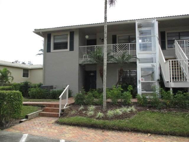 12 Stratford Drive E A, Boynton Beach, FL 33436 (MLS #RX-10600764) :: The Paiz Group