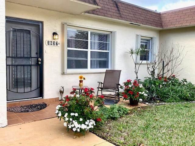 3637 SW Natura Avenue B, Deerfield Beach, FL 33441 (MLS #RX-10600904) :: Berkshire Hathaway HomeServices EWM Realty